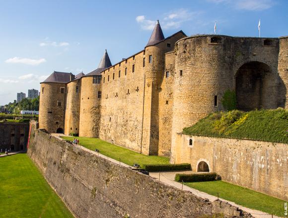 Le plus grand chateau fort de france