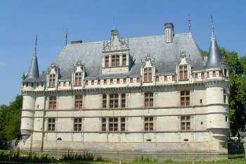 Chateau de la renaissance en france