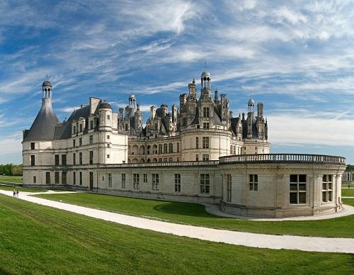 Temps de visite chateau de chambord