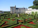 Chateau loire jardin