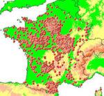 Carte des chateaux en france
