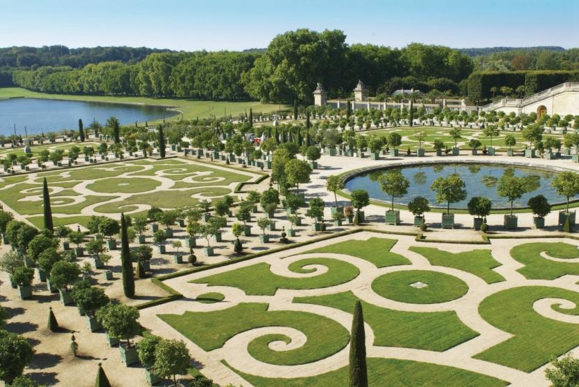 Visite des jardins du chateau de versailles chateau u - Jardin du chateau de versaille ...