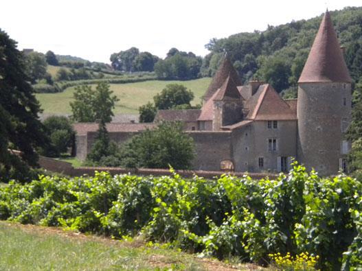 Chambre d hote chateau bourgogne chateau u montellier for Chambre d hote chateau thierry