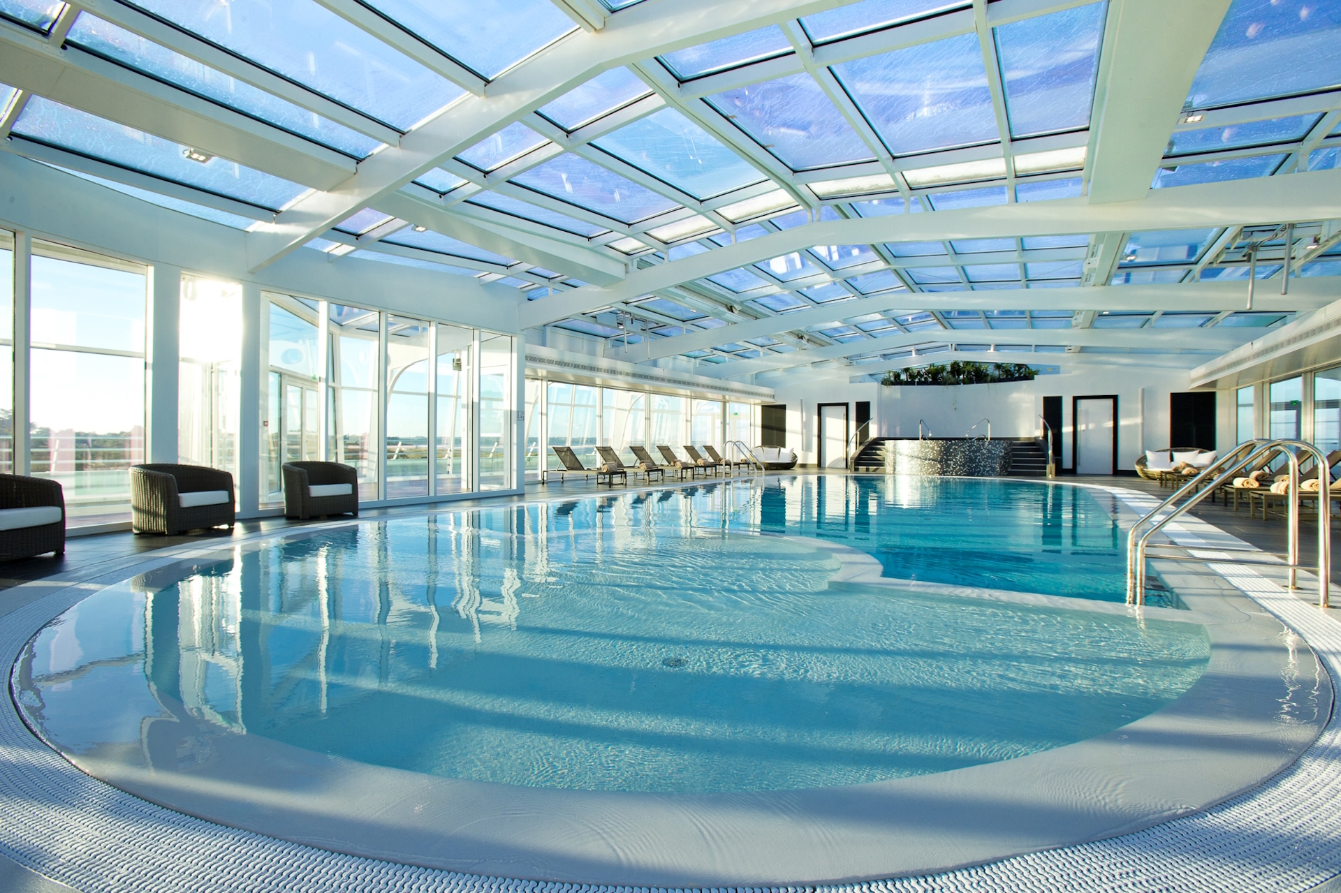Hotel en bourgogne avec piscine couverte
