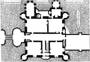 Plan chateau de chenonceau