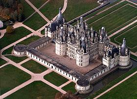 Leonard de vinci chateau de chambord