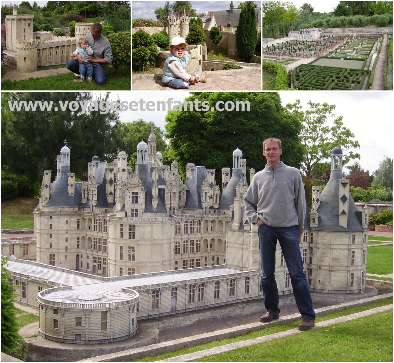 Chateau de la loire avec jardin