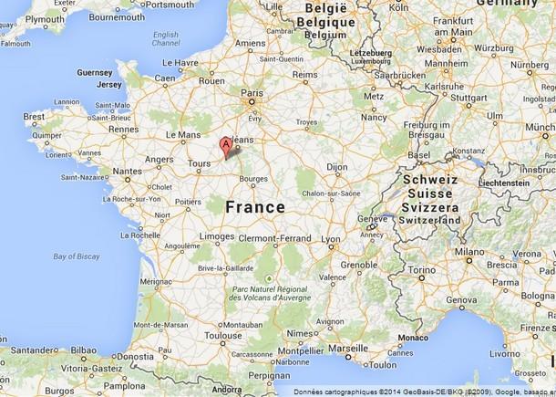 Chambord Carte De France Chateau U Montellier