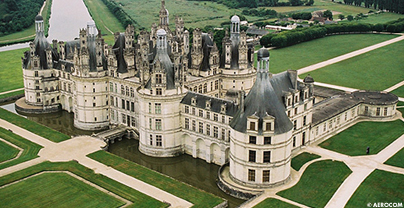 Chateau de chambord nombre de cheminees