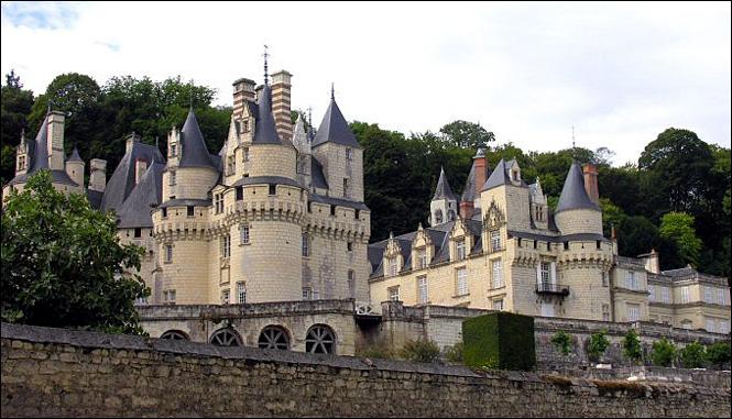Chateau en indre et loire a visiter
