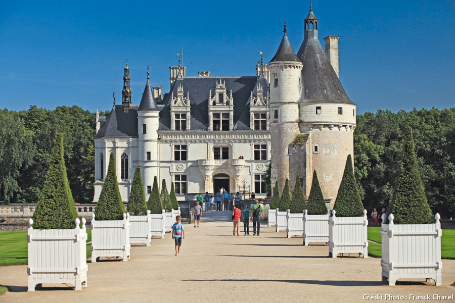 visite virtuelle chateau de chenonceau chateau u montellier. Black Bedroom Furniture Sets. Home Design Ideas