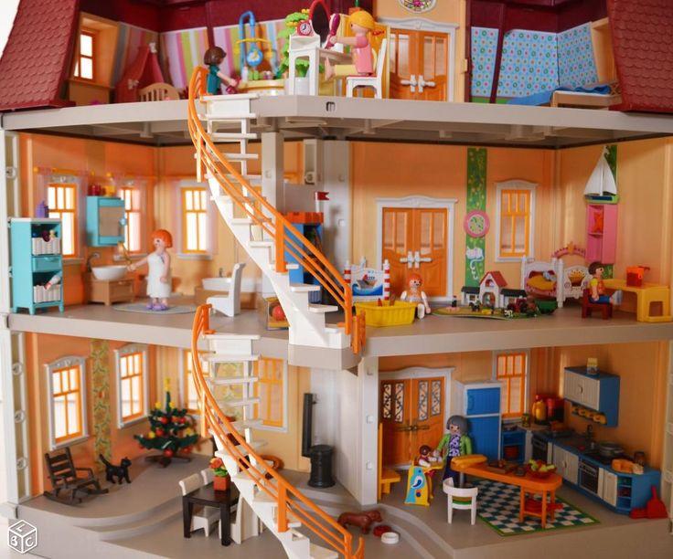 Playmobil maison playmobil chateau u montellier - Toute les maison playmobil ...
