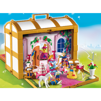 Coffret de princesse playmobil