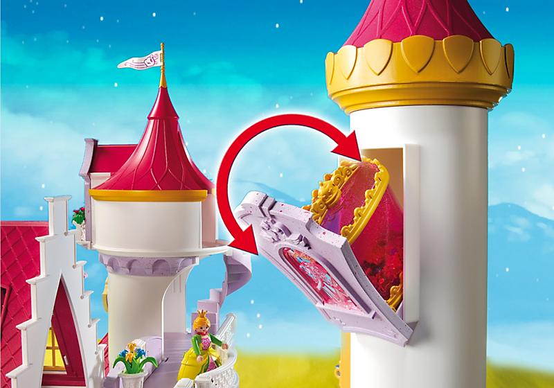 Petit chateau de princesse playmobil - chateau u montellier