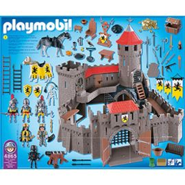Chateau fort playmobil occasion chateau u montellier for Playmobil 4865 prix