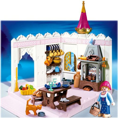 Extension cuisine chateau princesse playmobil