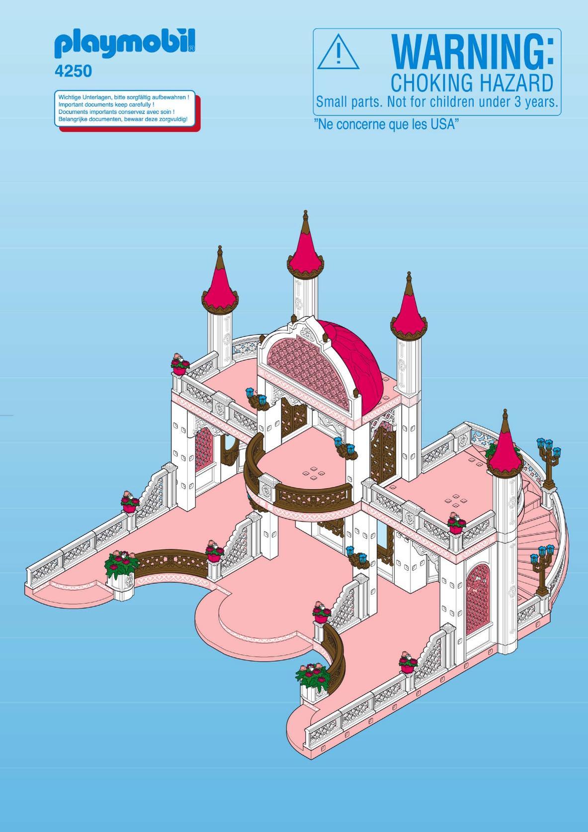 Le chateau de princesse playmobil - chateau u montellier