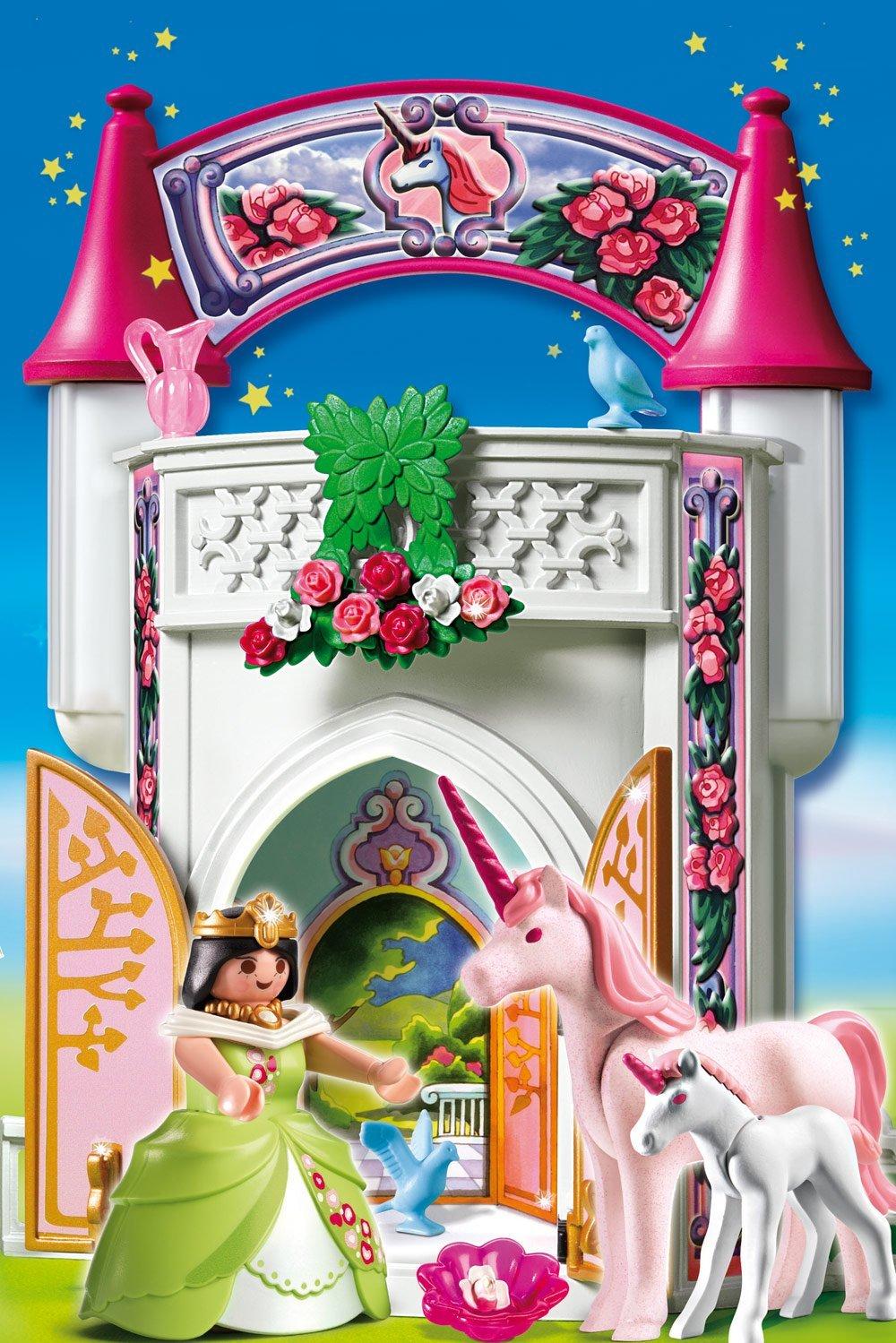 Playmobil princesse licorne - chateau u montellier