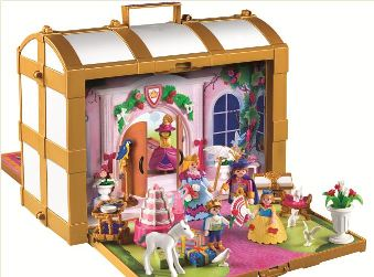 Playmobil valise chateau chateau u montellier for Chateau playmobil princesse 5142