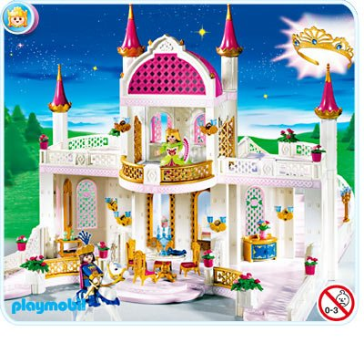 Extension chateau playmobil princesse