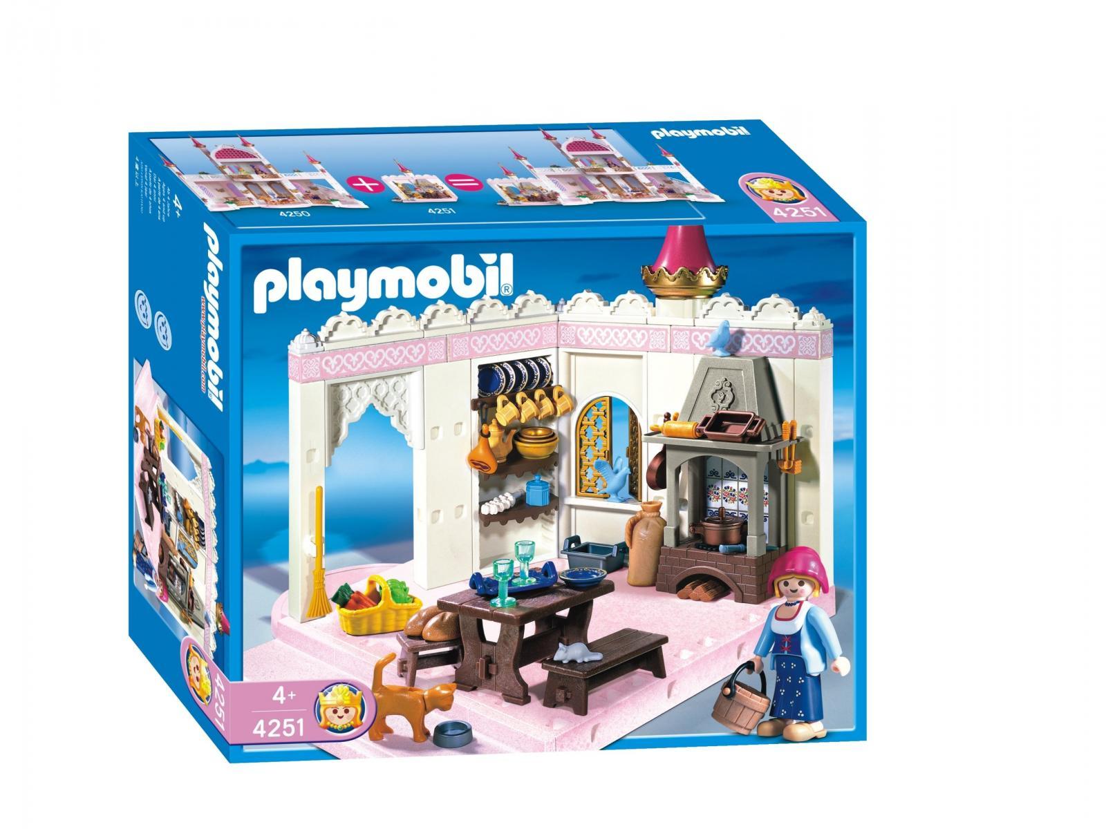 Playmobil cuisine princesse