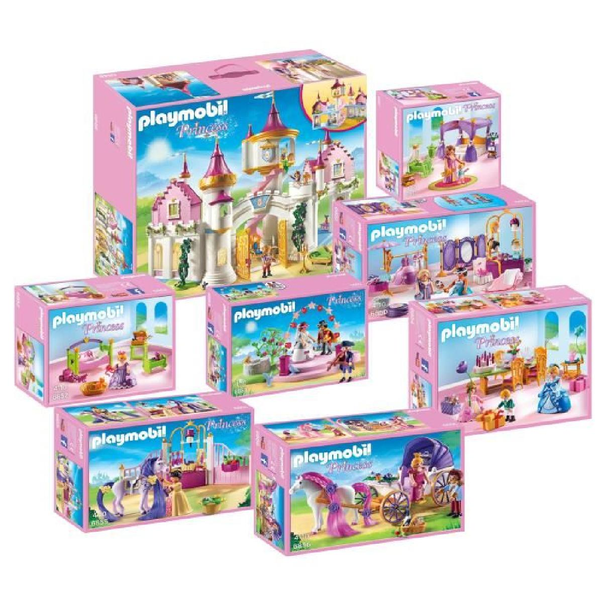 Emejing chateau princess playmobil gallery design trends 2017 for Playmobil chambre princesse