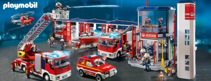 playmobil pompier - Playmobil Pompier