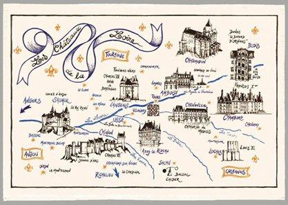 Route des chateaux de la loire - chateau u montellier