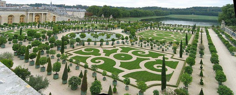 Les jardin du chateau de versailles