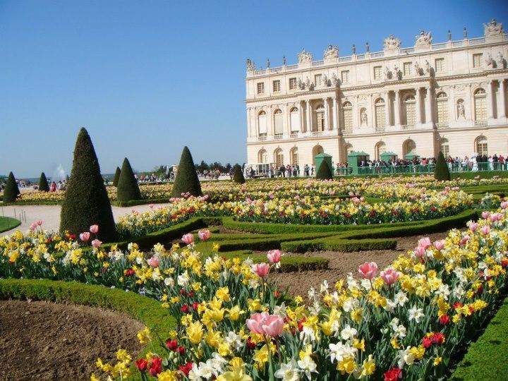 Chateau de versaille jardin