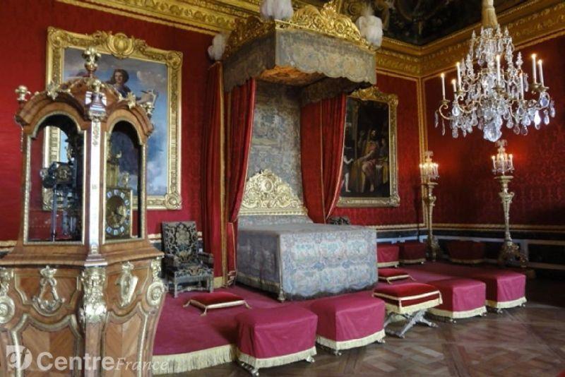 Chateau de versailles chambres