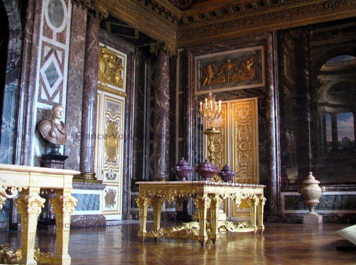 Interieur du chateau de versaille