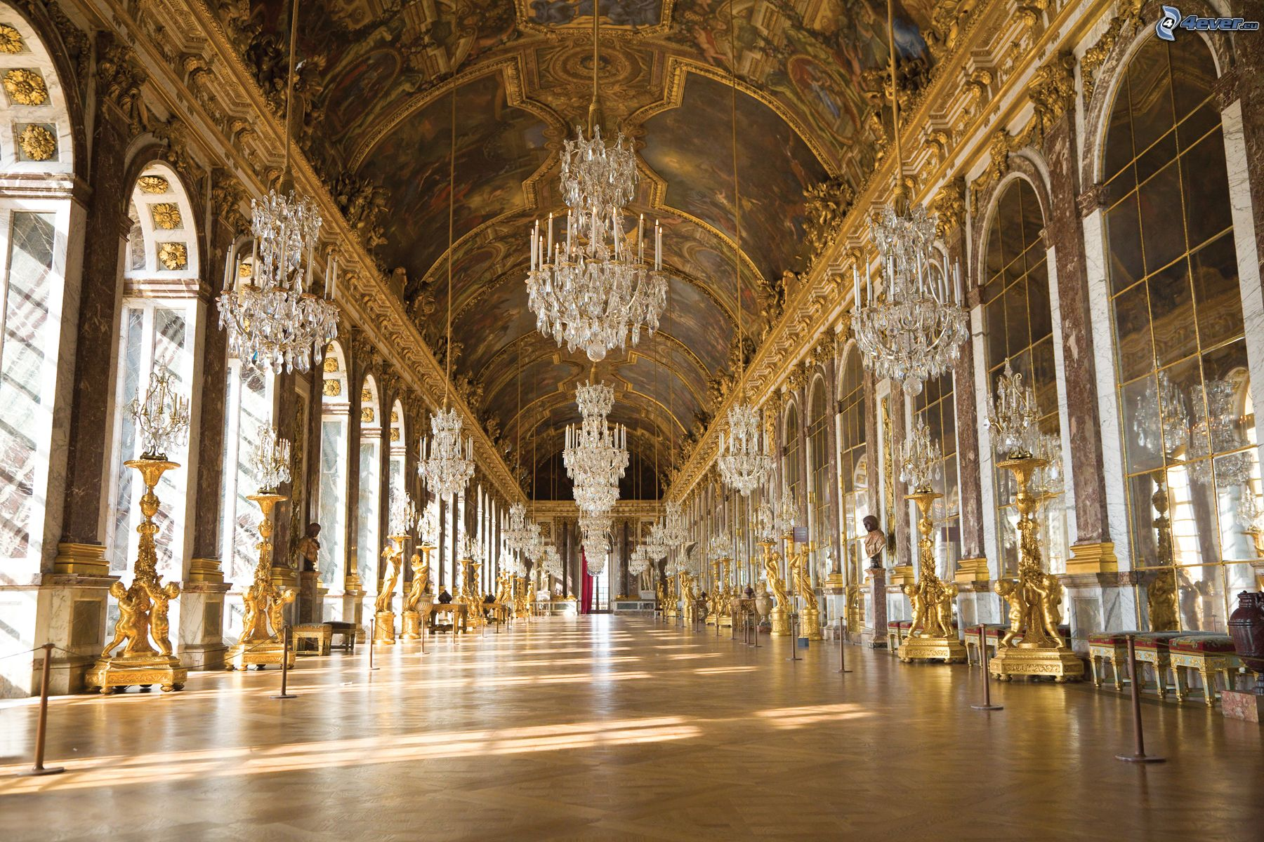 Chateau de versaille interieur