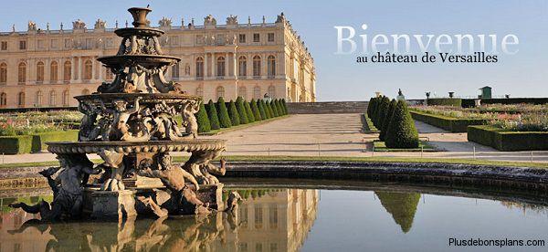 Chateau versailles gratuit