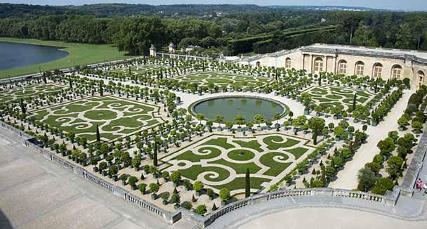 Hotel versailles pr s du chateau chateau u montellier - Jardin du chateau de versaille ...