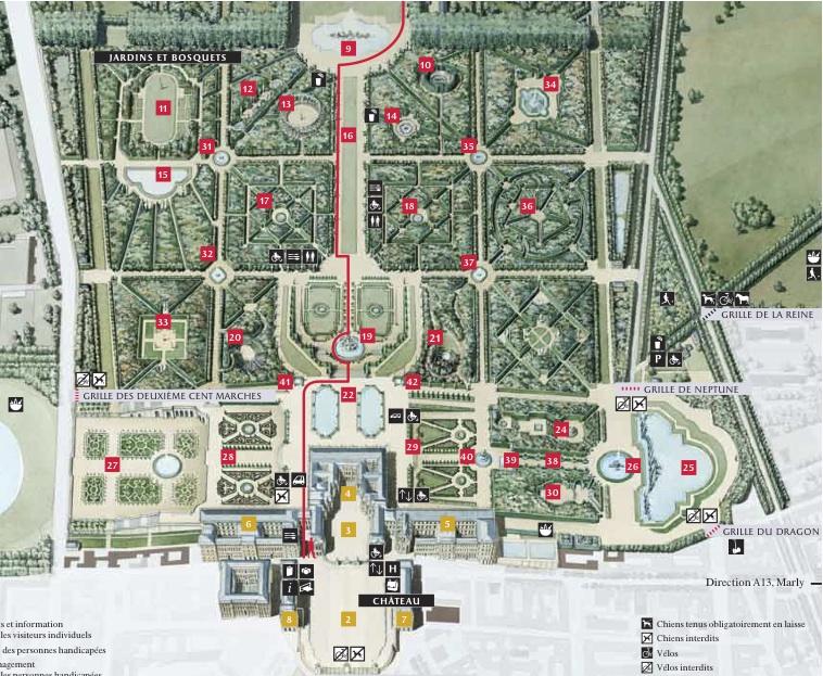 Plan Du Chateau De Versaille Chateau U Montellier