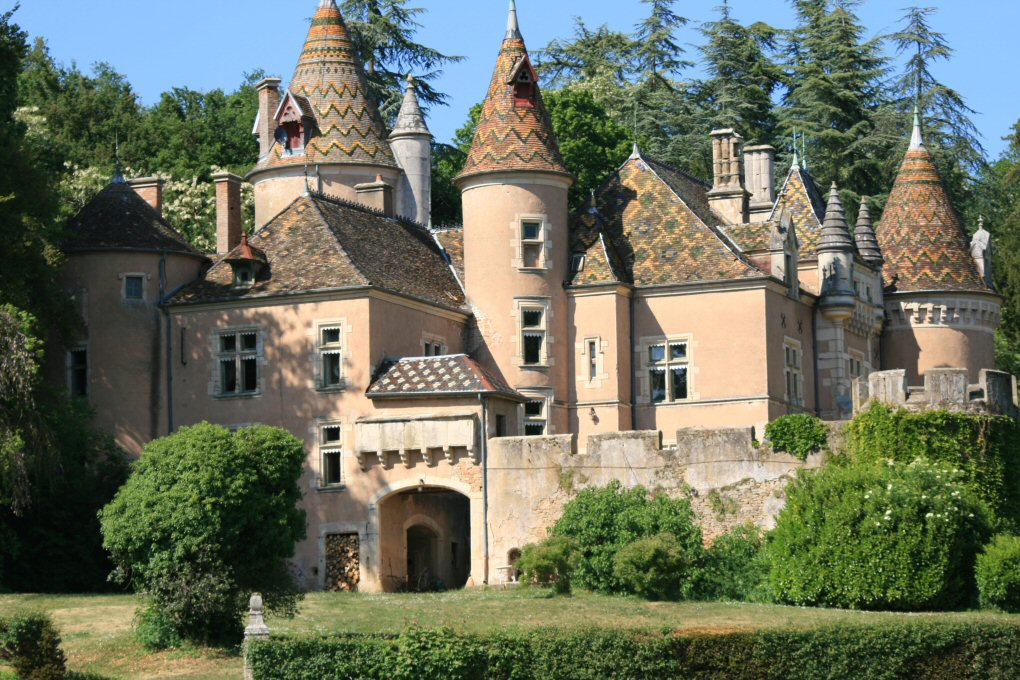 Chateaux hotels bourgogne