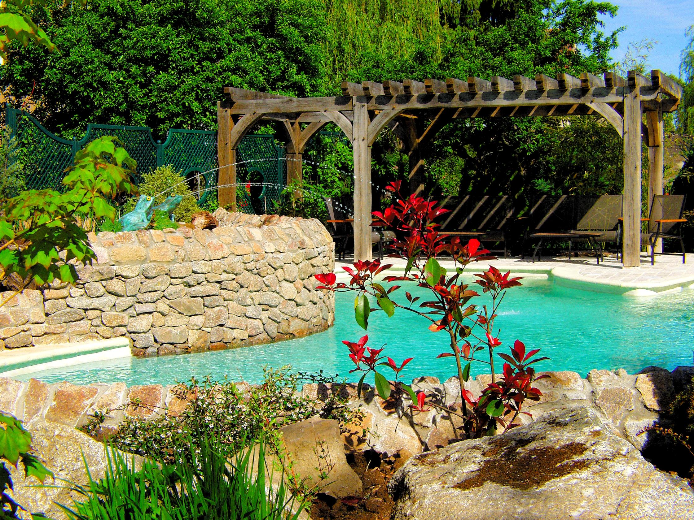 Relais et chateaux en bourgogne avec piscine