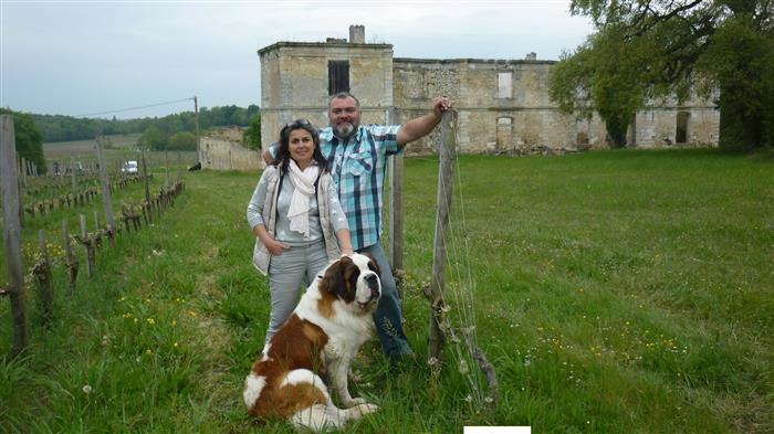 Chateau gironde visite