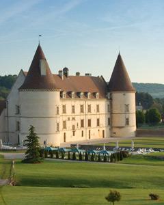Hotel chateau bourgogne