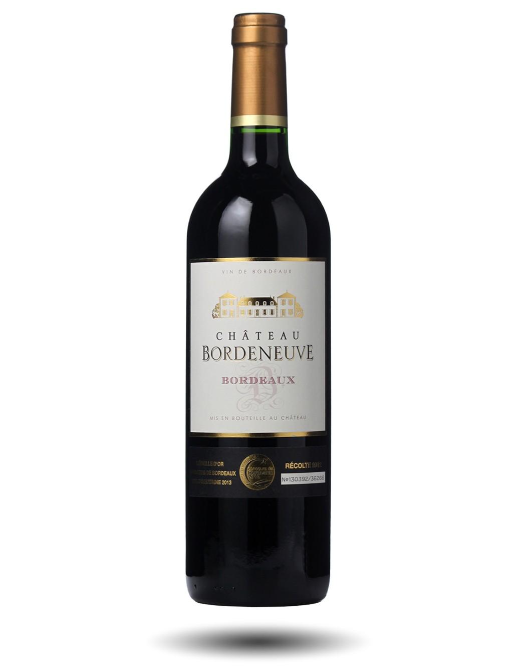 Vin rouge de bordeaux