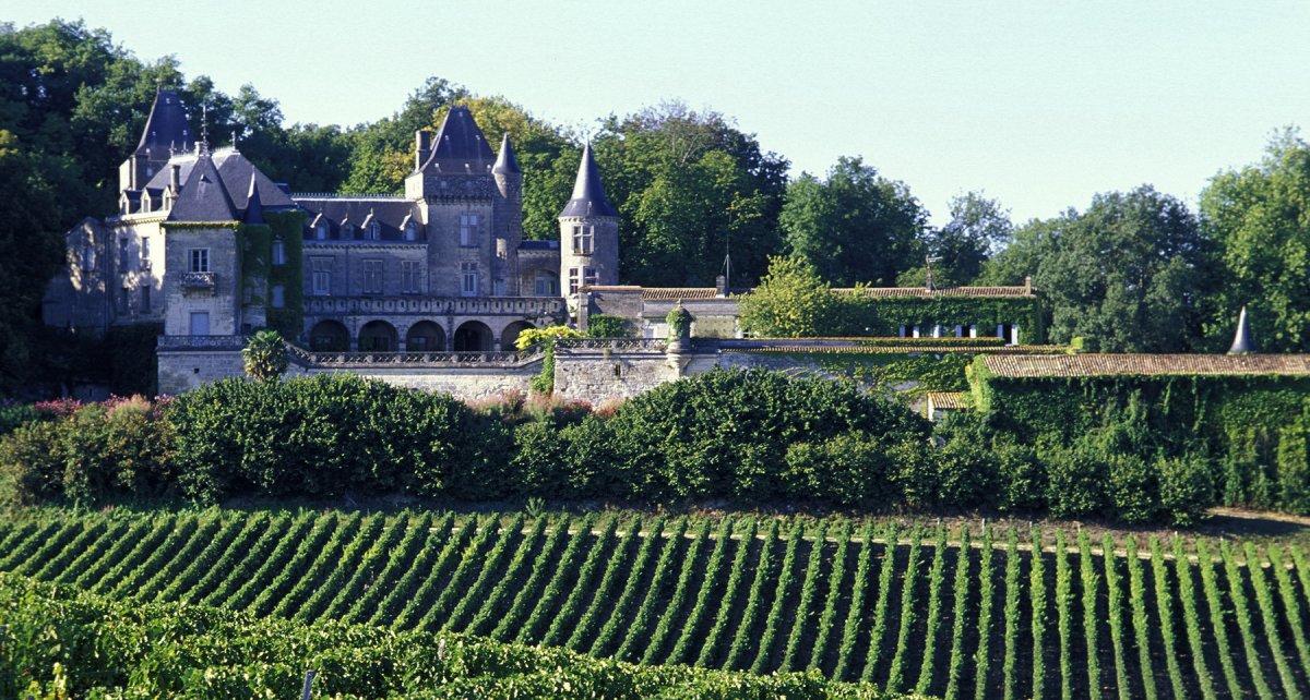 Chateau vin bordeaux