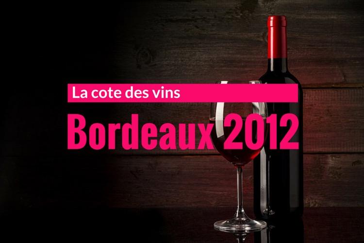 Cotation vin de bordeaux