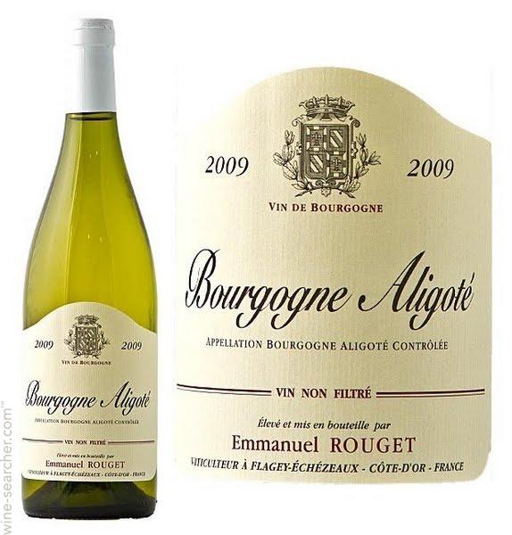 Vin bourgogne aligoté