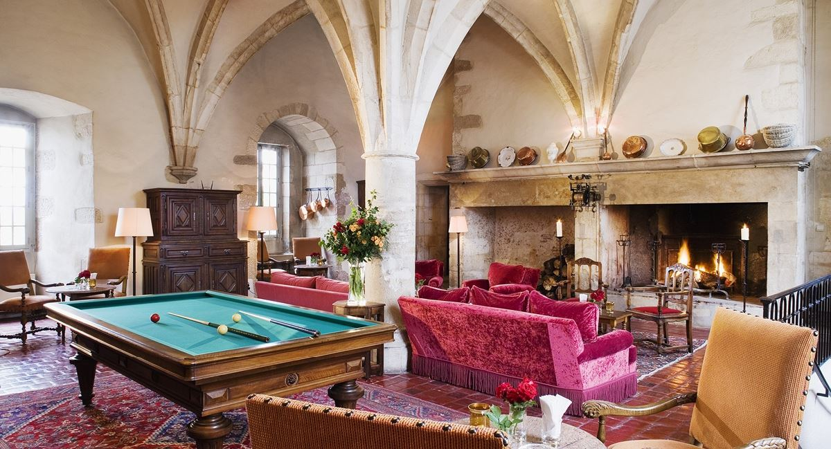 Hotel chateau en bourgogne