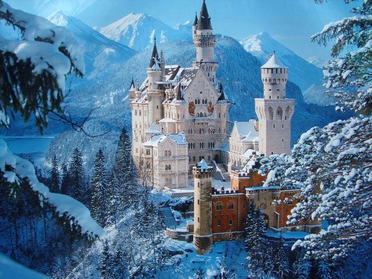 Chateau de la belle au bois dormant en allemagne