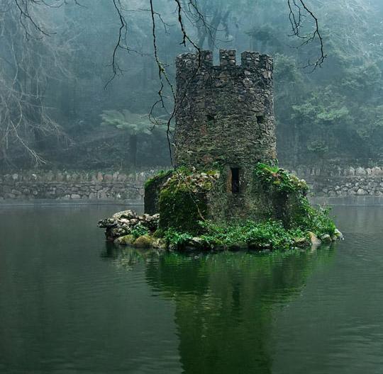 Chateau dans l eau