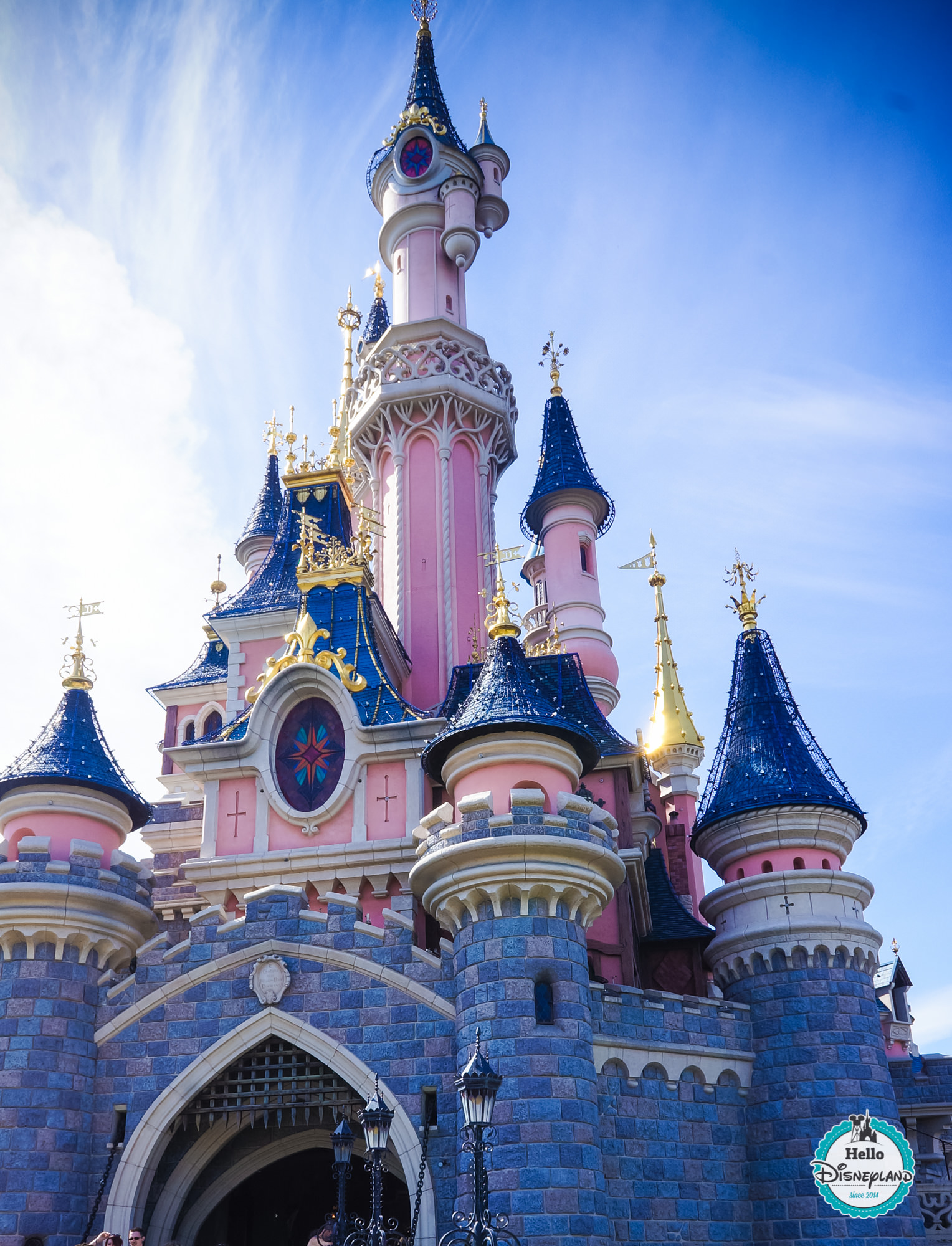 Disney chateau de la belle au bois dormant