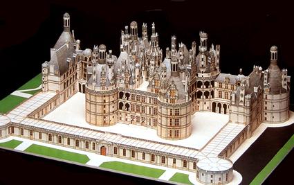 Dimension du chateau de chambord