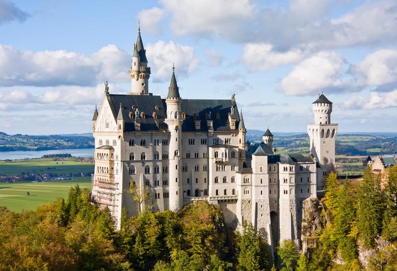 Chateau de cendrillon en allemagne